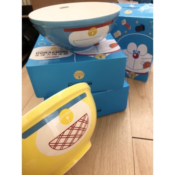 哆啦A夢聯名大陶瓷碗 1000ml 可微波 洗碗機 骨瓷 百寶袋拉麵碗 小叮噹 小叮鈴 DORAEMON 7-11 碗公