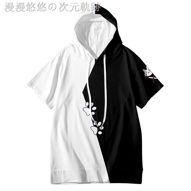 ✚虛擬主播vtuber大神澪周邊日系T恤男動漫二次連帽短袖體恤痛衣