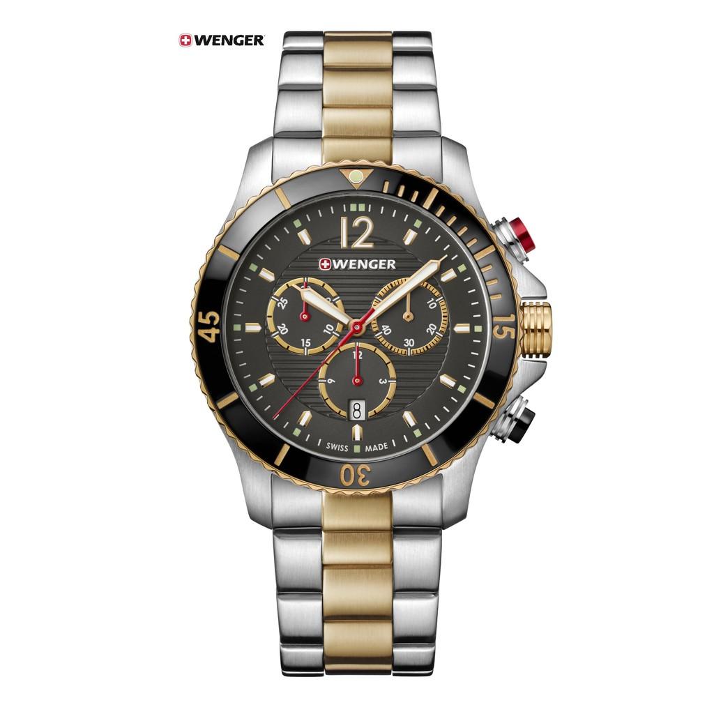 瑞士WENGER Seaforce海勢系列 征服怒海潛水腕錶 01.0643.113