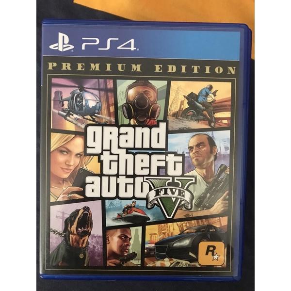 PS4 GTA5 二手品