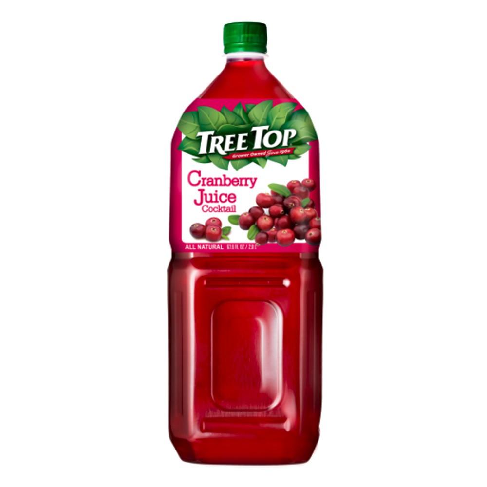 【樹頂】100%蔓越莓綜合果汁2公升-City'super