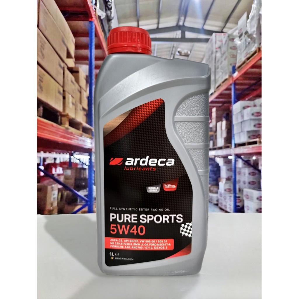『油工廠』ARDECA PURE SPORTS 5w40 雙酯類 全合成 機油 競技級