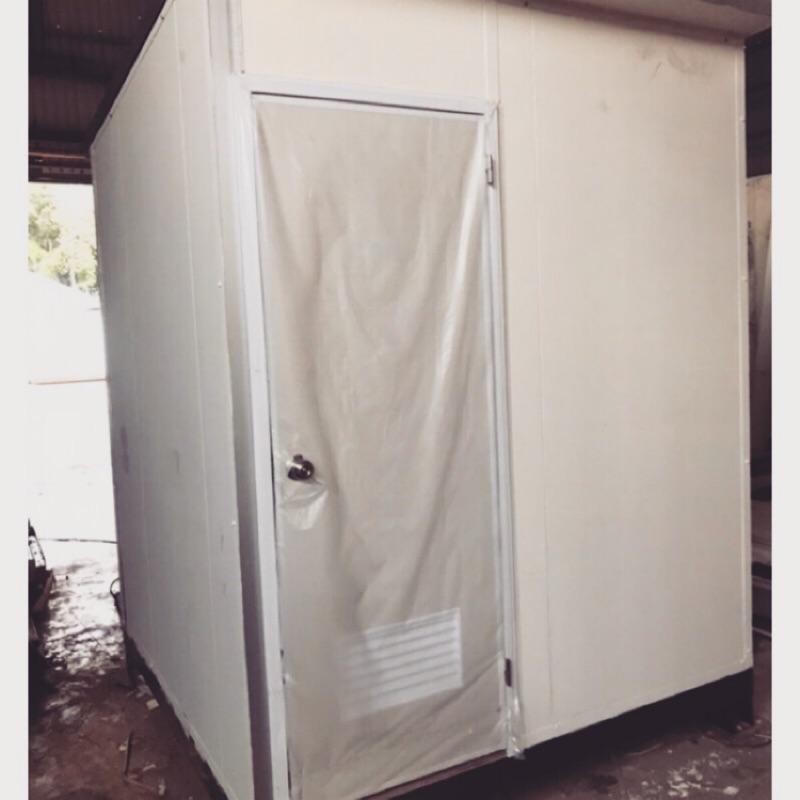 一坪流動衛浴,行動廁所,水泥底座貼磁磚