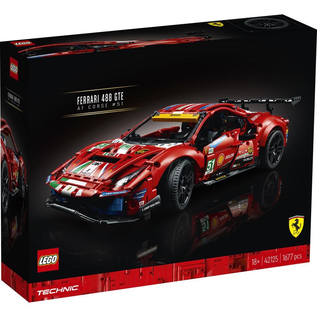 """LEGO 樂高 42125 Ferrari 488 GTE """"AF Corse #51"""""""