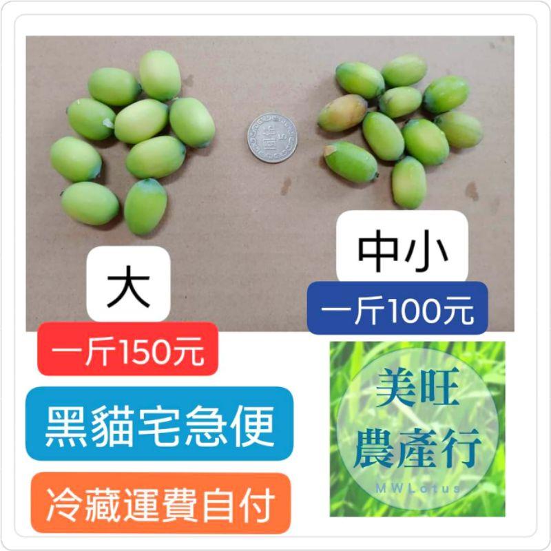 白河新鮮蓮子.綠殼蓮子.炒三杯最好吃.110年產季開始.