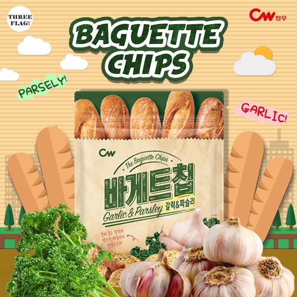 韓國直送 [CW] 韓國大蒜麵包餅乾 (400g)