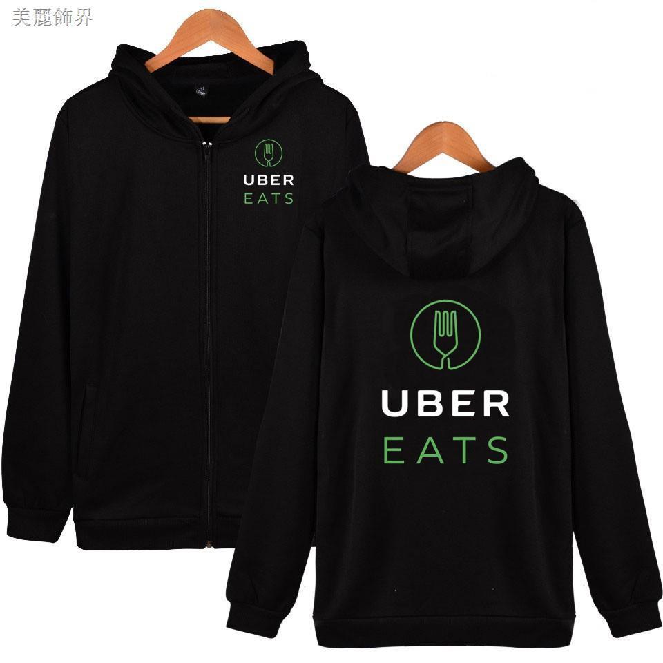 新款UBER EATS帽T男士棉時尚長袖外套