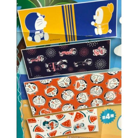 『現貨』日本 正版 哆啦A夢 小叮噹 多拉A夢 純棉 布料 布 手帕 毛巾 擦手巾 便當包巾