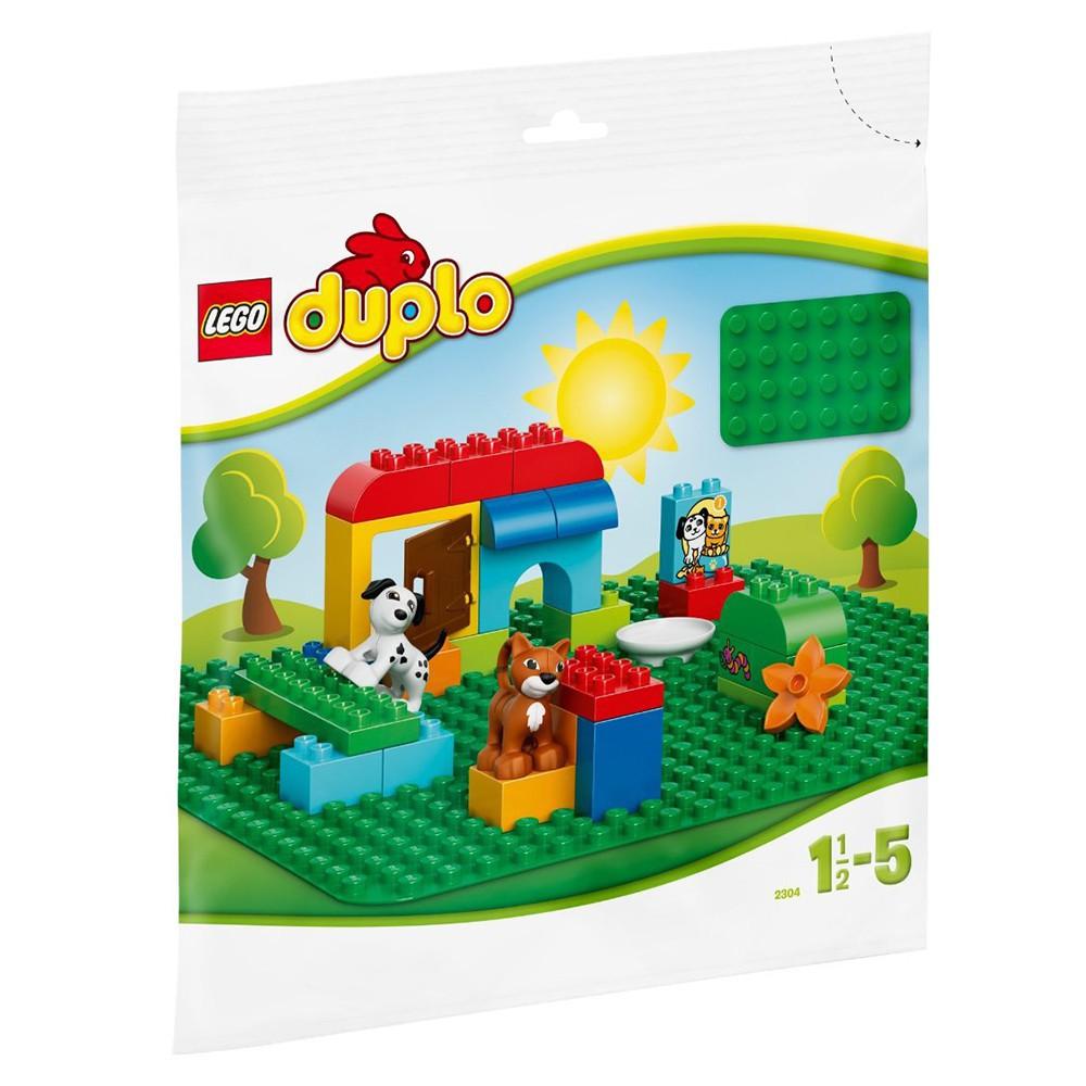 樂高積木 Lego 2304 得寶 綠色大底板 玩具反斗城