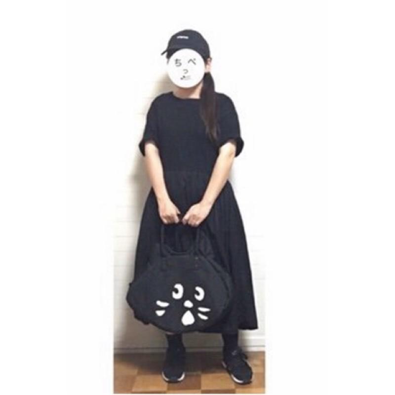 現貨Ne-net大貓臉單肩手提包