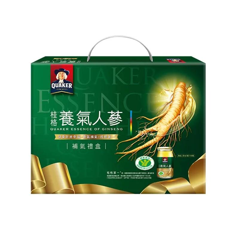 桂格 養氣人蔘禮盒 60 ml x 8瓶 公司貨 【立赫藥局】