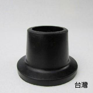 橡膠腳套 腳墊-孔徑2.7cm高3.8cm 黑色2個入 洗澡椅使用 銀髮族 台灣製[ZHTW1719-878A] 新北市