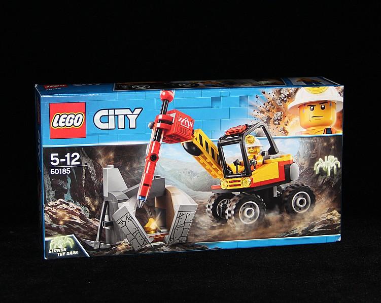【夏拉朵朵代購】LEGO樂高積木城市60186鉆孔機 60188采礦基地60185巨強力裂機石劈