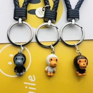 Bape AAPE 潮流 公仔 鑰匙圈 吊飾 鑰匙扣 玩具 潮流 潮牌 猿人 baby milo ape 娃娃 新北市