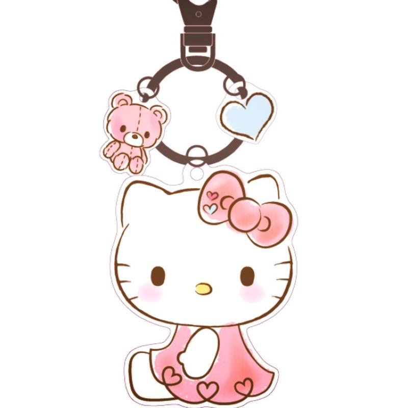 Hello kitty造型悠遊卡 愛心 小熊 三麗鷗