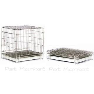 寵物白鐵籠 - 3門白鐵線 折合籠 ( 2 X 1.5尺 ) 臺北市
