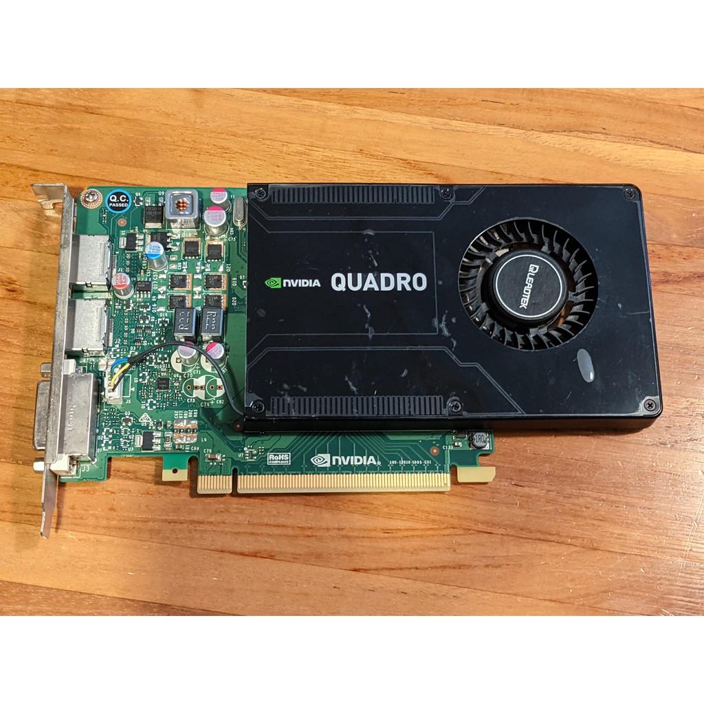 【二手】NVIDIA Quadro K2200 繪圖卡