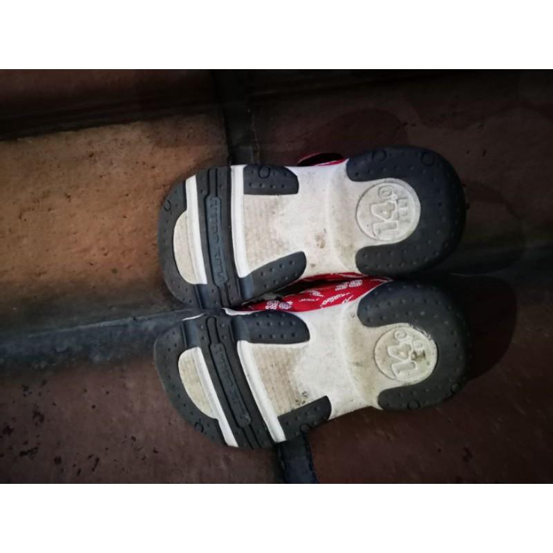 moonstar × pixar Cars 麥坤 14cm 童鞋 (二手,8成新)