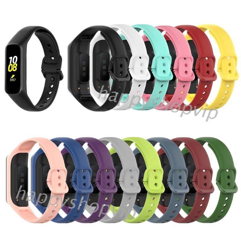 適用於 Samsung Galaxy Fit2 Smr220 智能手錶帶官方風格矽膠錶帶
