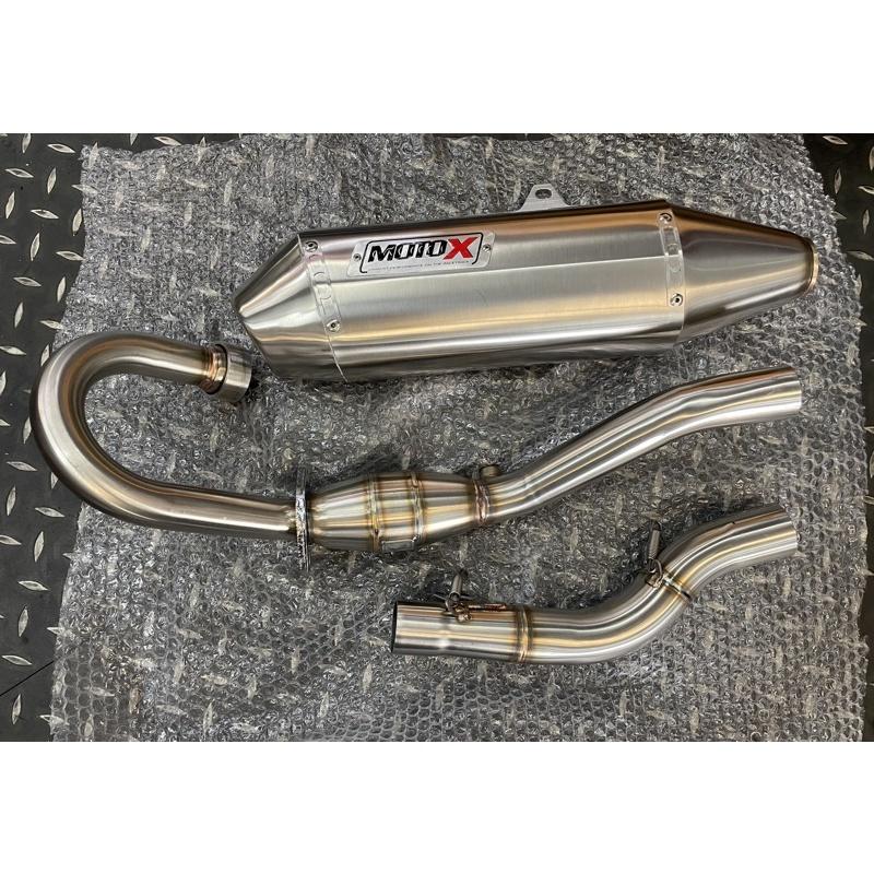 【上元車業】MOTO-X 不鏽鋼排氣管 HONDA  CRF300L  CRF300RALLY