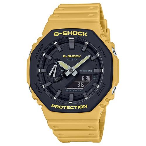 【CASIO】G-SHOCK農家橡樹2100八角腕錶 GA-2110SU-9A  台灣卡西歐保固一年