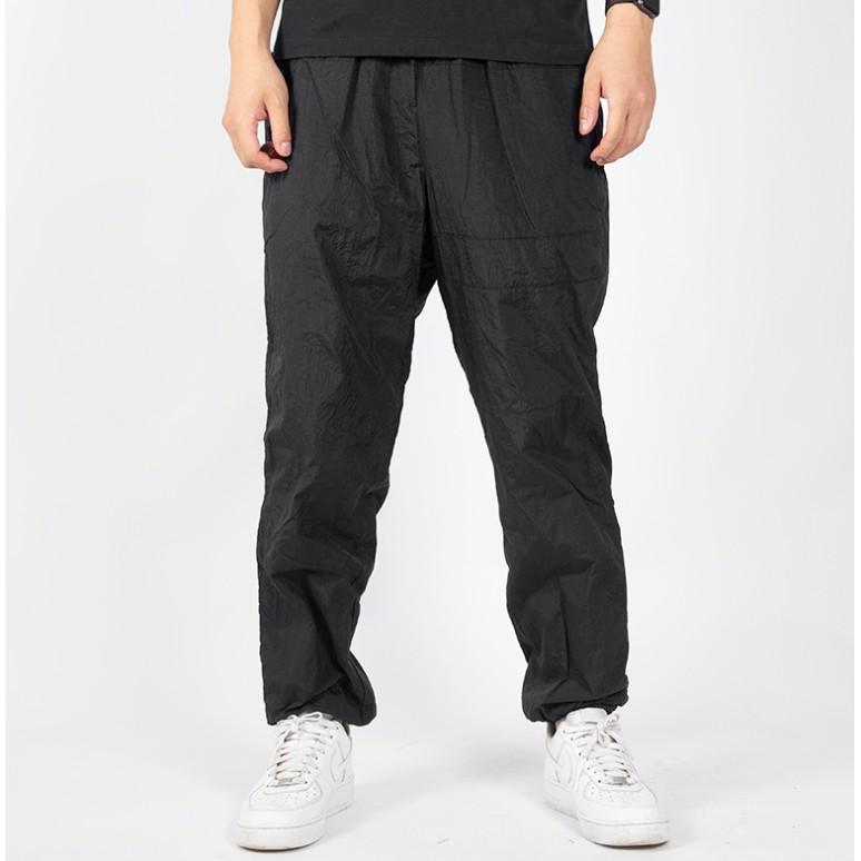 Nike 耐吉 長褲 運動衛褲 CN8513-014雙層梭織衛褲 防風褲男款 黑色