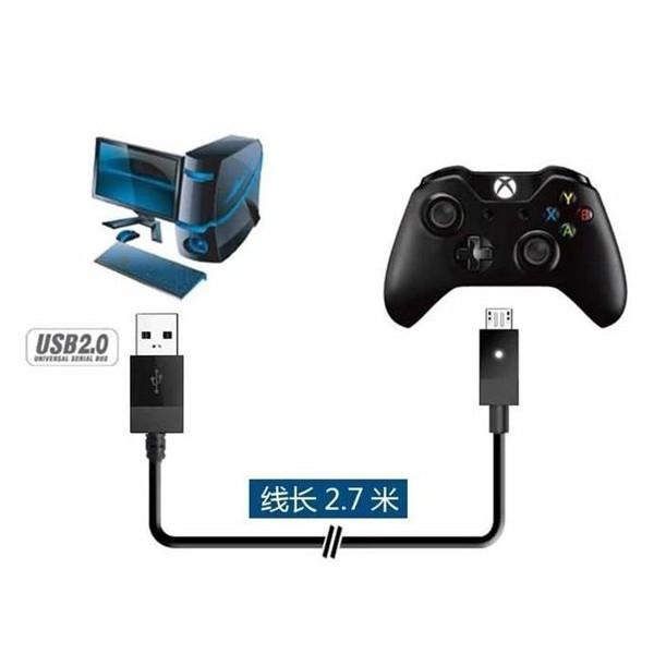 PS4 XBOX ONE Micro USB 充電線 傳輸線 2.7M 可接ONE手把連接電腦