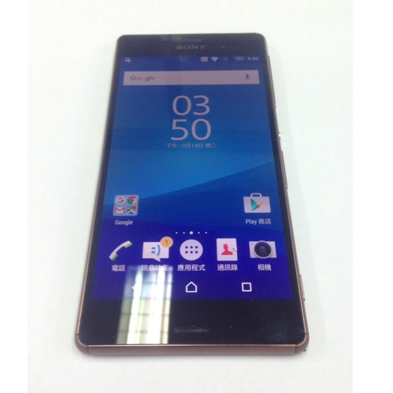 Sony Z3 D6653 4G LTE 四核心 5.2吋  金/黑/白/紫色/綠色