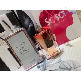 Lancome/ 蘭蔻 美麗人生  La Vie Est Belle香水 100ML La Vie Belle 50ml