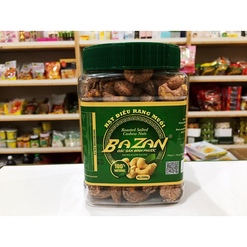 越南🇻🇳BAZAN腰果 帶殼腰果嚴選大顆腰果100%NATURAL