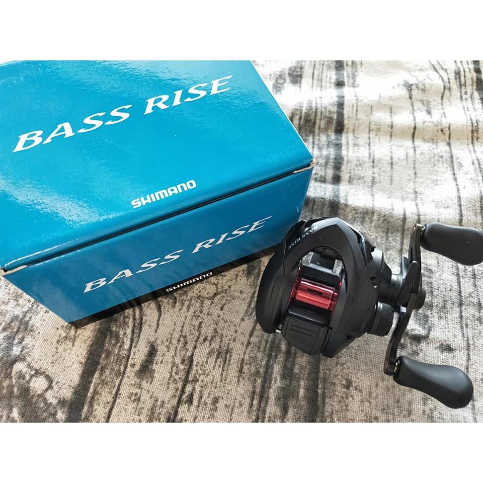 SHIMANO BASS RISE 入門款小烏龜 雙軸梭型捲線器 右手 擬餌拋投 捲線器