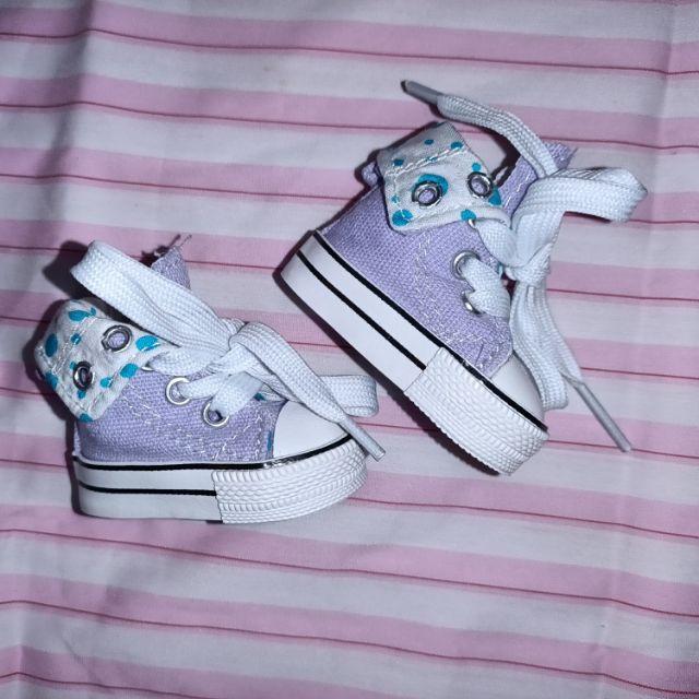 Tilda帆布鞋 6cm娃鞋 棉花娃娃