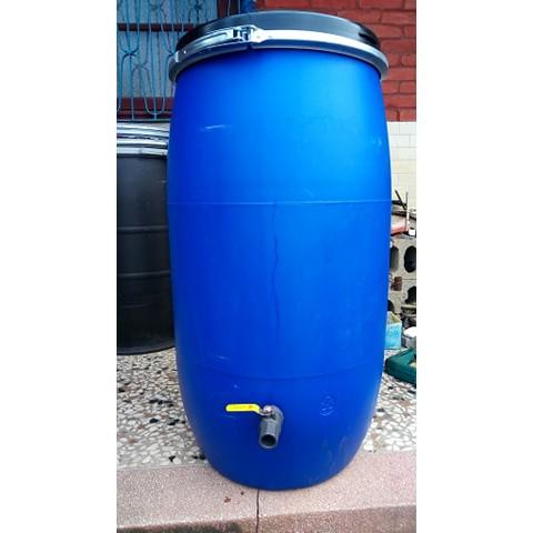 120公升 藍色塑膠桶化學桶/耐酸桶/密封桶/運輸桶/萬用桶/廚餘桶/垃圾桶/園藝桶/儲物桶/儲水桶/堆肥桶/酵素桶