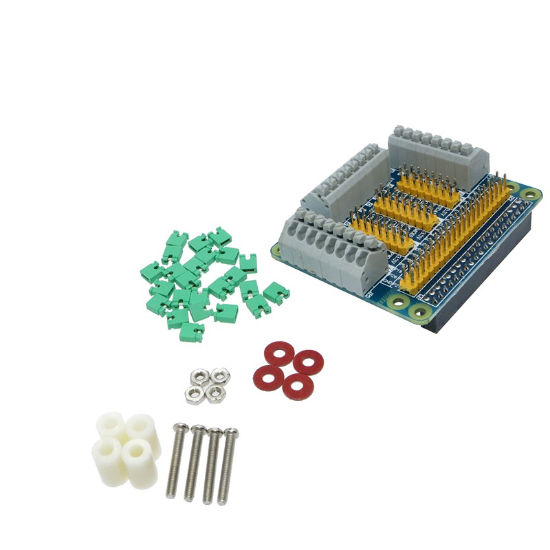 Raspberry Pi 2/3模型b適用於Orange Pi PC的GPIO擴展板多功能GPIO模塊Banana Pi