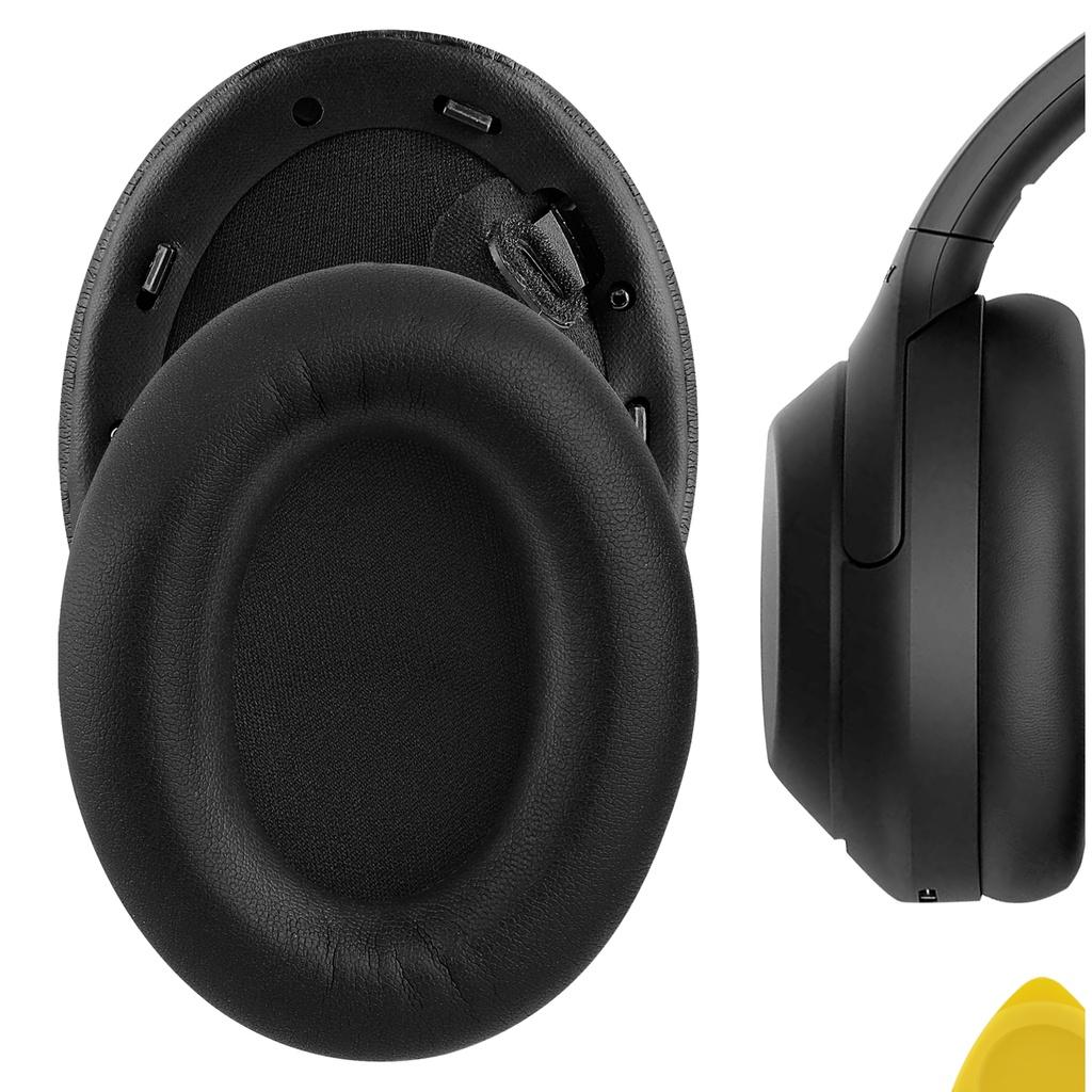 Geekria Protein 皮革替換耳墊, 適用於 Sony WH-1000XM4 無線耳機耳墊 WH1000XM4