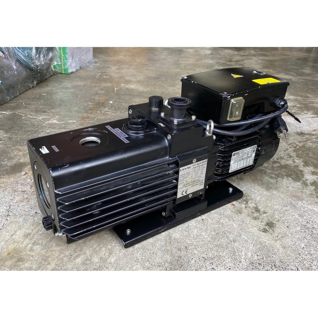 日本ULVAC GLD-201B(1HP單相110V)二段式油式真空幫浦/真空機-實驗室減壓過濾、真空脫泡機可用