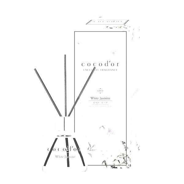 韓國cocodor香氛擴香瓶50ml - 白茉莉【康是美】[買1送1][下單1出貨2]