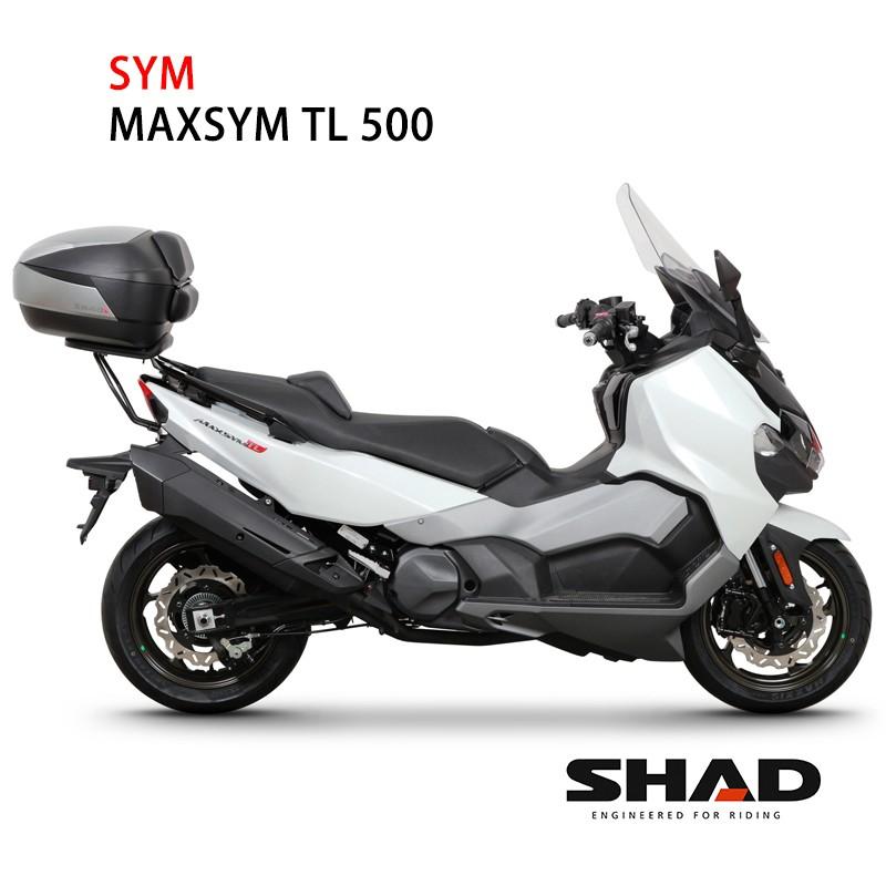 西班牙 SHAD專用後架 三陽SYM MAXSYM TL 500 可加購置物箱 總代理 摩斯達有限公司