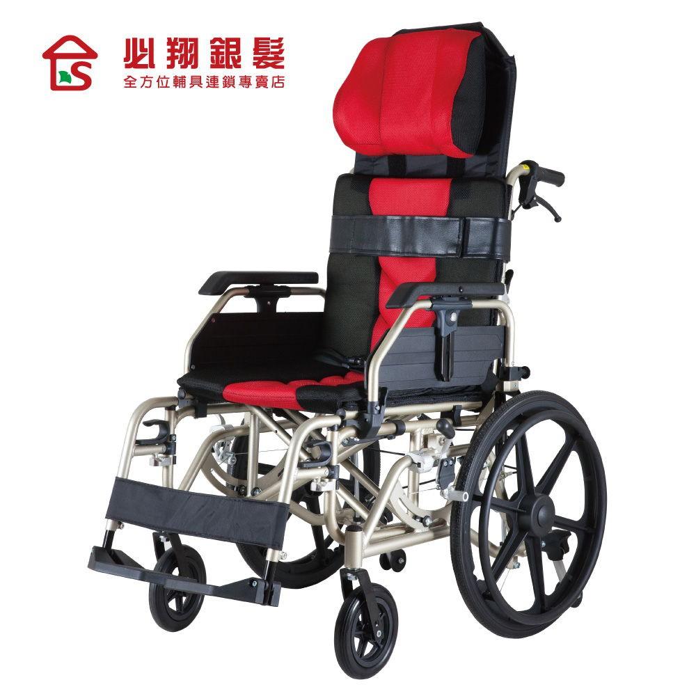 必翔銀髮 空中傾倒型看護輪椅PH-186(未滅菌)