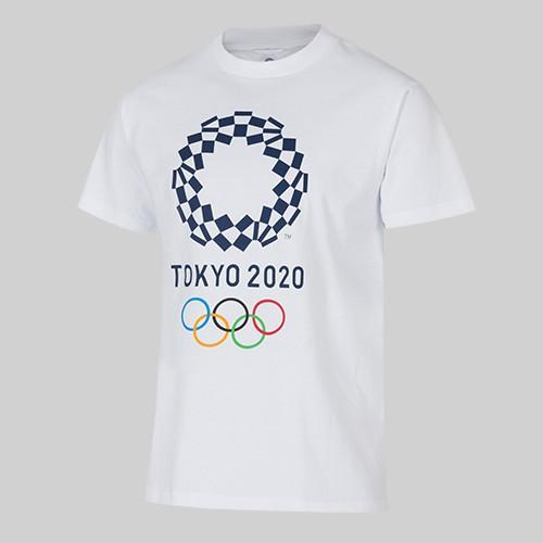 全新 東京奧運 Tokyo Olympics 2020 官方紀念商品 T恤 S 現貨