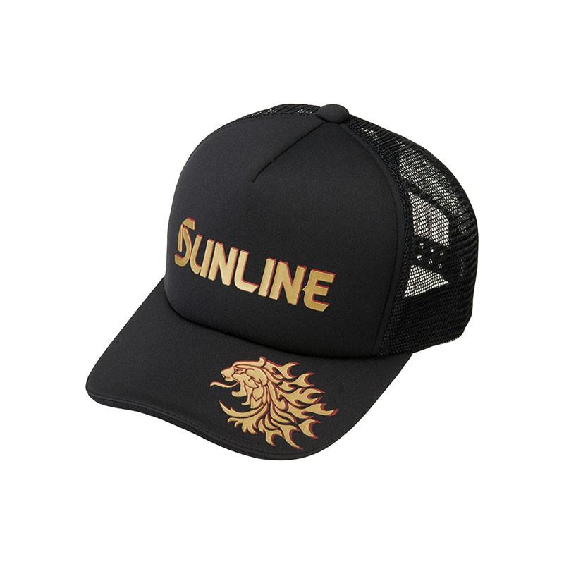 《SUNLINE》974481 CP-3397 黑色釣魚網帽 中壢鴻海釣具館