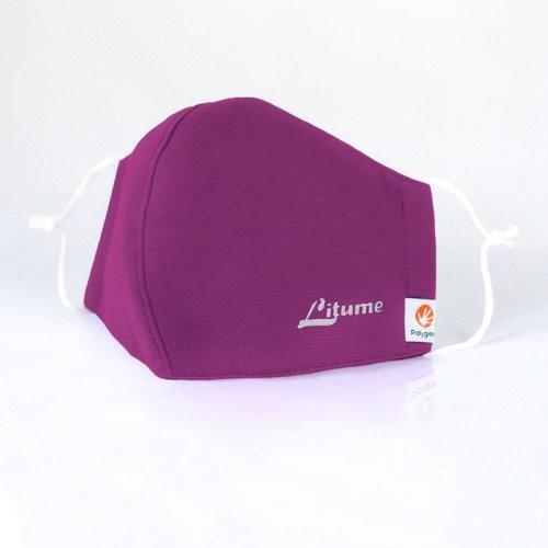 F333-65防塵防護口罩(非醫療級口罩)紫色