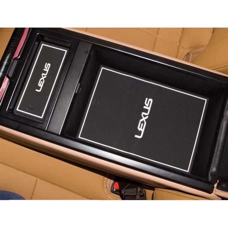LEXUS UX200 UX250h nx200 rx200 es nx rx 專用門槽墊 儲物盒墊 水杯墊 矽膠止滑墊