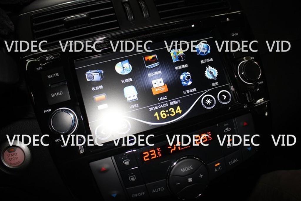DIY商城 BIG TIIDA 八吋 螢幕 DVD 衛星導航 數位電視 倒車攝影 藍芽 方控 多功能