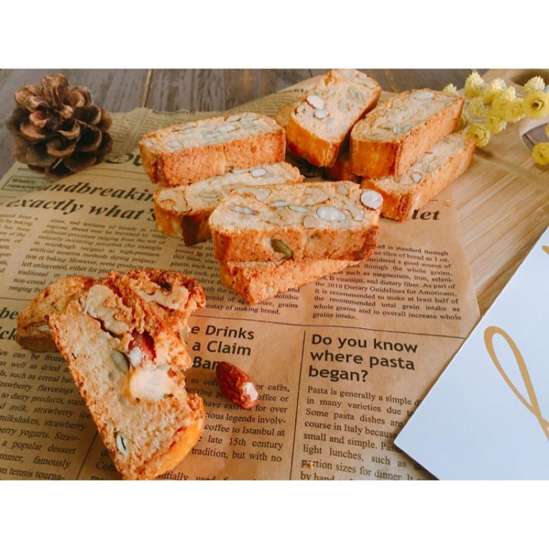Biscotti 綜合堅果比斯寇提(Happiness Handmade Baking)