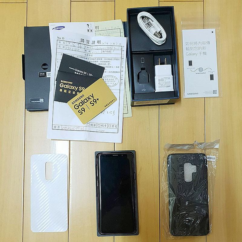 【二手】台版Samsung Galaxy S9 Plus 6G/128G 6.2吋 旗艦拍照手機