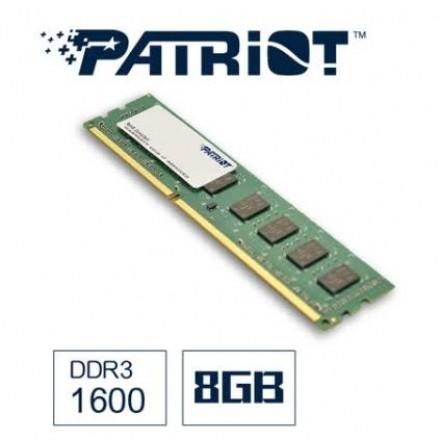 全新現貨  PATRiOT 博帝 DDR3 1600 8G 桌上型記憶體 全美前3大記憶體 全球終身保固  單支 8GB