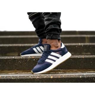 正品*Adidas Originals I-5923 iniki Runner 藍/ 白 慢跑鞋(BB2092)