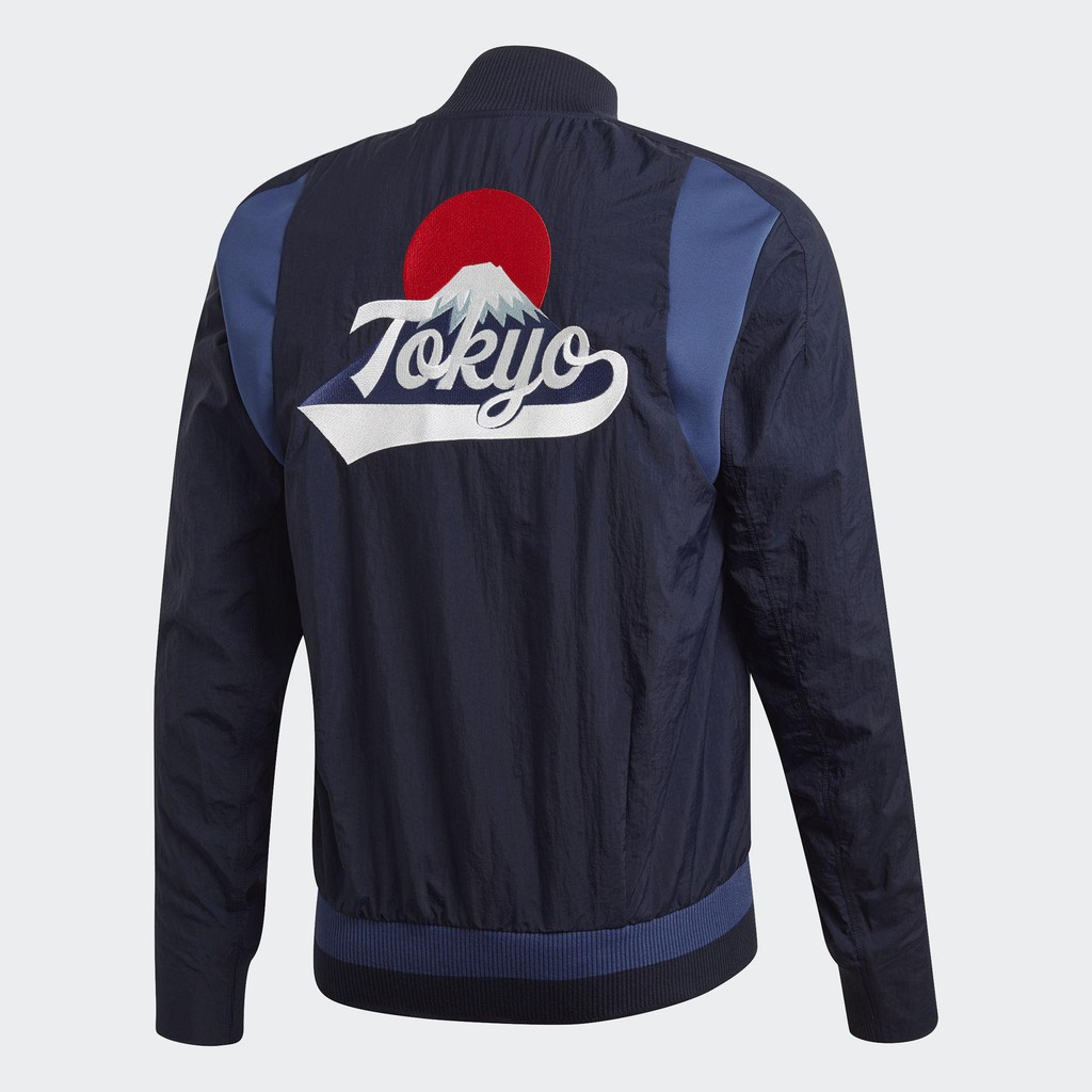 SUK 代購 ♦️ Adidas Vrct Tokyo 海軍藍 深藍 城市 東京 山形圖 外套 FI4030