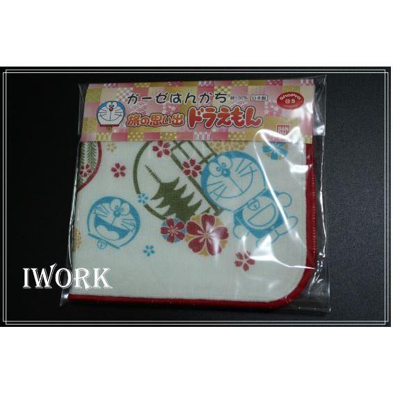日本貨 哆啦A夢 小叮噹 手帕 小方巾 擦手巾 口水巾